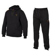 Fox Collection Noir Orange Capuche & Jogging / Pêche Carpe Vêtements