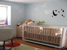 MOON AND STARS Nursery Baby Kids  Room Wall Art Decal