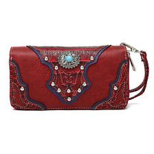 Western Wallet Women Wristlet Wallet Women Clutch Bag Party Long Purse Lady