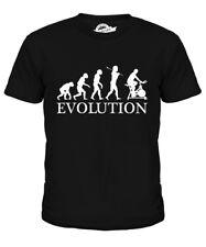 EXERCISE BIKE EVOLUTION OF MAN KIDS T-SHIRT TEE TOP GIFT