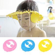 Home Kids Infant Child Shower Bathing Eye Ear Shampoo Cap Hair Wash Protector