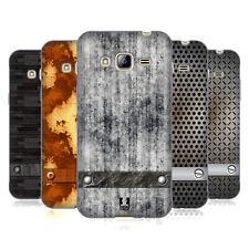 Funda HEAD CASE DESIGNS CON Gel Suave texturas industrial para teléfonos Samsung 3