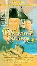 TREASURE ISLAND rare vhs CHARLTON HESTON Christopher Lee CHRISTIAN BALE 1993