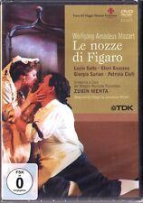 2.DVD MOZART: LE NOZZE DI FIGARO Patrizia Ciofi Lucio Gallo ZUBIN MEHTA Hochzeit
