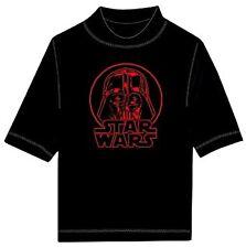 Disney Star Wars Boys Shield Rash Guard Black