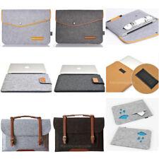 8 Design Woolen Felt  Laptop Sleeve Bag For HP DELL IBM MacBook 11 12 13 15 ''