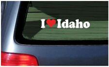 I Love Idaho Sticker Vinyl Decal Car Tattoo Boise Spuds Potatoes Pocatello