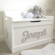 Girls/boys Wooden Personalised Children's Toy Box/Storage Box/chest Nursery