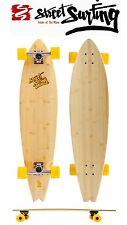"Original Streetsurfing Longboard Komplett ""Bamboo"" Skateboard Neu"