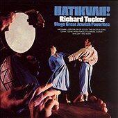 "Richard Tucker ""Hatikvah!: Richard Tucker Sings Great Jewish Favorites"" cd NEW"