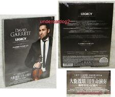 David Garrett Legacy Live In Baden-Baden Playing For My Life Taiwan DVD w/OBI