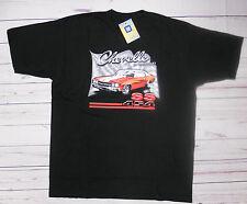 T-shirt CHEVROLET CHEVELLE SS454 con cartellino ORIGINALE GM nera M-XL