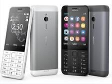 """Nokia 230 Dual&Single SIM 2G GSM 900 1800 2MP 2.8"""" Bluetooth Radio cell phone"""