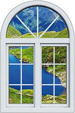 Sticker fenêtre trompe l'oeil Lac réf 1009