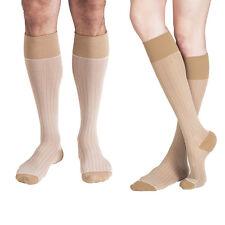 Dr Comfort Rejuva 20-30 mmHg Knee Compression Socks Supports Herringbone Vein