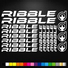 RIBBLE aufkleber sticker set abziehbild decal fahrrad bike mtb bmx road