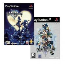PS2 / Sony Playstation 2 Spiel - Kingdom Hearts 1 & 2 (mit OVP)
