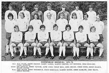 TOTTENHAM HOTSPUR FOOTBALL TEAM PHOTO>1974-75 SEASON