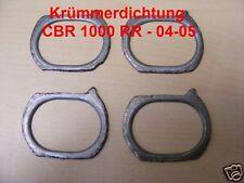 4 x Krümmerdichtung Honda CBR 1000 RR, SC57, Fireblade, Bj. 04-07, Dichtung, neu