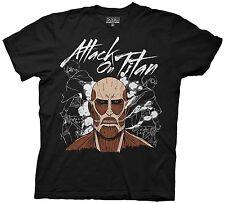 Adult Black Anime Manga TV Show Attack on Titan Dark Titan Group T-Shirt Tee