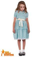 Child Creepy Sister Costume Grady Girls Exorcist Halloween Horror Fancy Dress