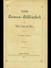 DEUTSCHE ROMAN-BIBLIOTHEK    1885