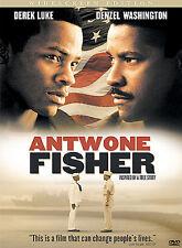 Antoine Fisher w/ Denzel Washington on DVD Antwone Fischer New