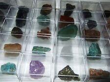 - Minerali - COLLEZIONE LOTTO 30 pz + contenitori (26)