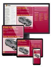 FORD FUSION Benzina & Diesel (2002-2012) da 02 a 62 Manuale Haynes online