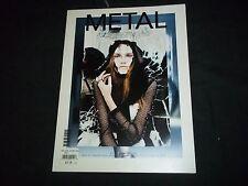 2009 FEB/MARCH METAL MAGAZINE - ISSUE #14 - FASHION MODELS & DESIGNERS - F 1025