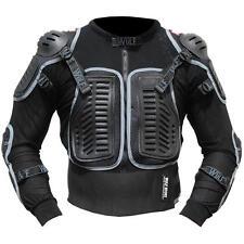 Adult Wulfsport Defender Deflector Body Armour Jacket MX Quad Enduro Black T