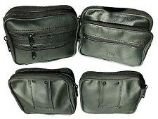 Gürteltasche Leder Tasche Handytasche Bauchtasche Hüfttasche Schwarz