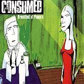 Breakfast at Pappa's; Consumed 1998 CD, Skate Punk, Nottingham UK, Fat Wreck Cho