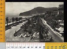 17896] SAVONA - FINALE LIGURE - PASSEGGIATA A MARE 1956