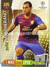 Adrenalyn XL Champions League 11/12 - Javier Mascherano