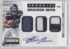 2012 Panini Gridiron #4 Robert Turbin Seattle Seahawks Auto Rookie Football Card