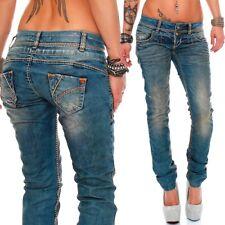 Cipo   Baxx Damen Slim-Fit Jeans Hüftjeans Skinny Stretch Röhre Hose 29f8edba11