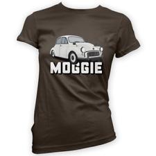Morris Moggie Womens T-Shirt -x14 Colours- Gift Present British Classic Hobby
