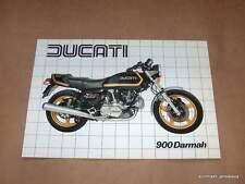 NOS Ducati 900 Darmah Brochure perfect 900ss bevel twin SD BLACK