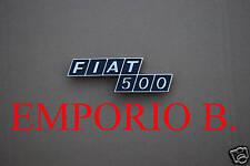 Fregio Scritta Sigla posteriore Plastica FIAT 500 F R