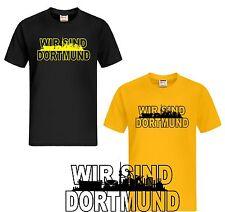 T-Shirt WIR SIND Dortmund Ultras  Fussball  Trikot Fan Shirt Fans