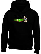 STUPENDA Pool Player FUMETTO DIVERTENTE Felpa con cappuccio personalizzato