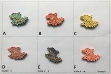 Posta Pro1 - Calamita magnete frigo Fridge Magnets  DELFINO CARTOON DOPPIO CON B