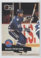 1991-92 Pro Set #208 Scott Pearson Quebec Nordiques Hockey Card