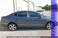 GTG 2006 - 2010 VW Volkswagen Passat 6PC Chrome Stainless Steel Pillars Posts