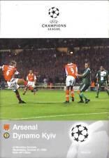 Football programmes > Arsenal V Dynamo Kiev OCT 1998 UCL