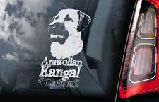 Anatolian Kangal on Board - Car Window Sticker - Dog Sign Decal Gift - V01