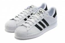 adidas Originals Men's Superstar 2 Trainers White/Black Very Big Size