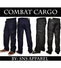 Combat Cargo Mens Trousers BNWT Designer Work Wear All Waist Regular Sizes
