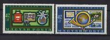 Hungría 1972 Sg # 2727-8 Filatélica museos Mnh Set
